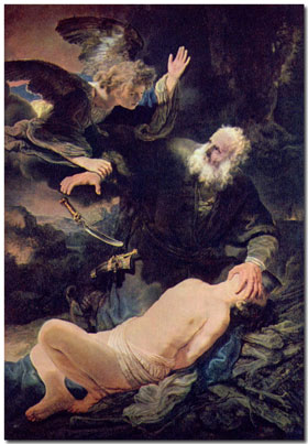 Abraham-and-Isaac-by-Rembra