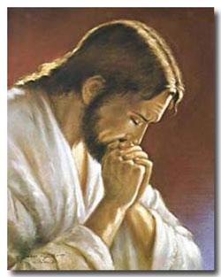 Christ-at-Prayer-by-Parisi w-frame