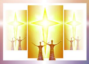 Golden-4-pointed-star