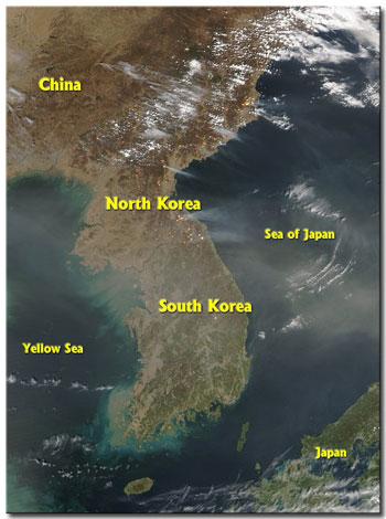 Korean-Peninsula-2004