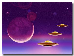 Moonrise-UFOs